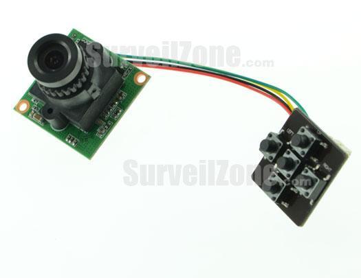 28x28mm Sony Super HAD CCD 600TVL Mini Camera 250 Frame