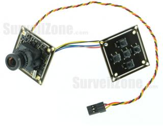 Foxeer XAT600 Sony Super HAD CCD 600TVL FPV IR Block Camera