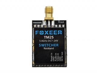 Foxeer 5.8G 40CH TM25 SWITCHER 25/200/600mW adjustable Power VTX with Race Band
