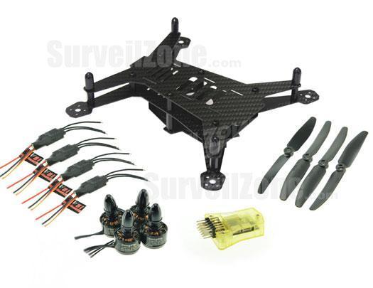 Mini200 Ultra Light Carbon Fiber 200mm Quadcopter Multicopter Frame Kits