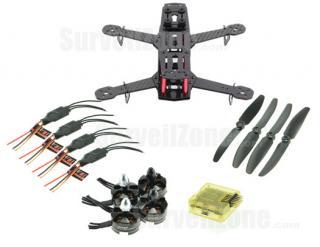 RC250 ZMR250 Ultra Light Carbon Fiber Quadcopter Multicopter Frame Sets