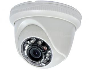 600TVL Cmos 33ft IR Mini Indoor Dome Security Camera with 2.8mm lens