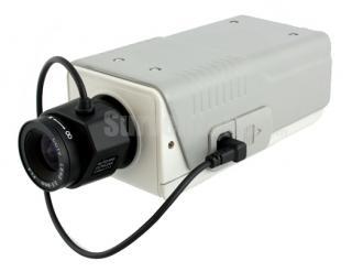 600TVL Indoor Color Box Camera 1/3