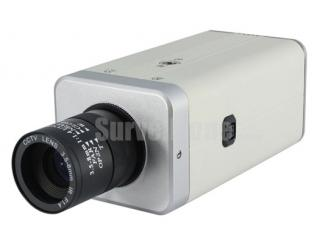 700TVL Indoor Color Box Camera Sharp 960H CCD Motion Detection OSD