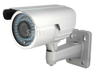 Pixim Super WDR 690HTVL Waterproof Color IR Security Camera 4-9mm Auto Iris Lens