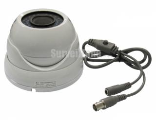 100ft IR 1/3 Sharp CCD 600TVL Waterproof Color Dome Security Camera with 2.8-12mm Lens 3D-DNR