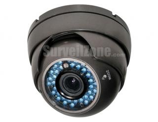 Effio-E DSP Sony 960H CCD 700TVL Waterproof Color IR Dome Camera with 2.8~12mm Lens