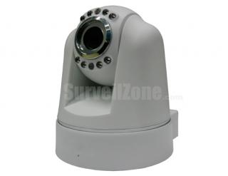 Network WIFI PT Security Color IR  IP Camera with two-way Audio(white)