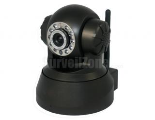 Network WIFI PT Security Color IR IP Camera with two-way Audio
