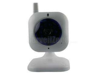 Network WIFI Security Color IR IP Camera with two-way Audio(white)