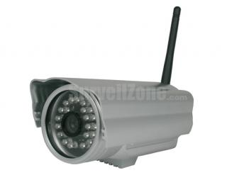 65ft IR Network WIFI Color  Waterproof IP Security Camera