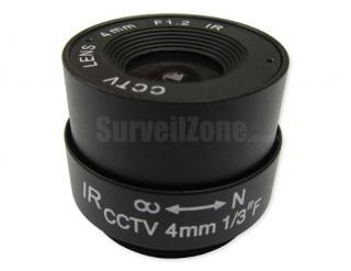 CS 4mm CCTV Professional Lens for Security Camera