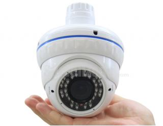 CMOS 550tvl 30m IR Waterproof Color Camera with 4~9mm Lens