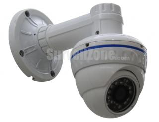 2.5 inch CMOS 550TVL 20m IR Waterproof Color Camera with 3.6mm Lens