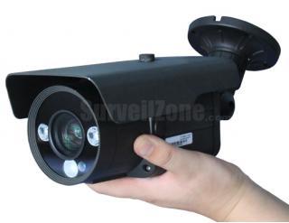 Sony CCD 700TVL Effio Dot-matrix Led 80m IR Waterproof Color Camera 9~22mm Lens
