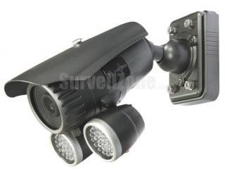 Effio Sony 960H CCD 700TVL Waterproof 60m IR Camera with 9-22mm Auto Iris Lens
