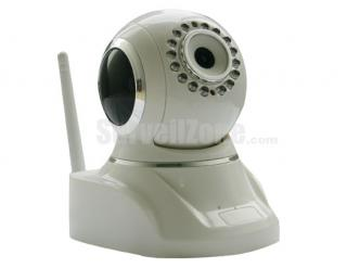 Network WIFI Pan/Tilt Security Color IR IP Camera (two-way Audio)