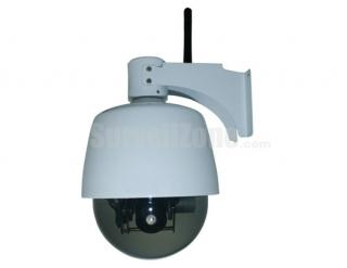 4inch Mini Weatherproof Outdoor IP66 WIFI Wireless PTZ 3X Optical Zoom IP Camera