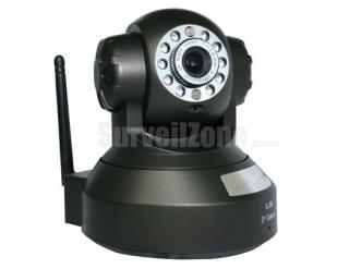 H.264 Network WIFI Pan/Tilt Security Color IR IP Camera two-way Audio