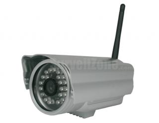 Network WIFI Color Waterproof IP Security Camera 20m IR Cut