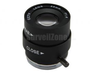 Professional CS Mount 25mm CCTV Lens