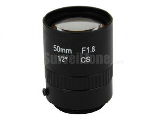 "1/2"" CS Mount 50mm CCTV Lens Security Camera"