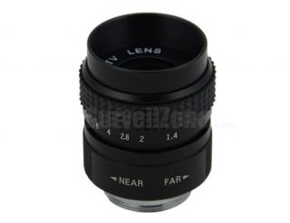 """1/2"""" CS Mount 25mm Fixed Focal CCTV Lens for Security Camera"""