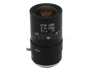 CS 2.8-12mm CCTV Professional Lens Security Camera