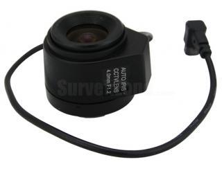 4mm CS Mount Professional CCTV Camera Lens Auto IRIS