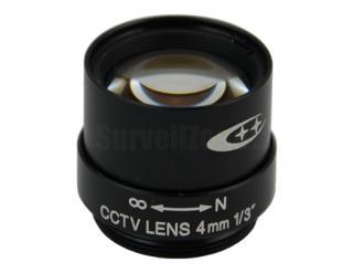 Professional CS Mount Mega Pixels CCTV Camerar 4mm Lens