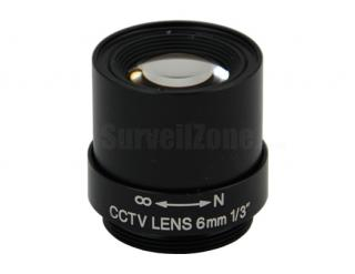 CS Mount Mega Pixels 8mm CCTV Lens