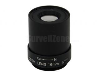 CS Mount Mega Pixels CCTV 16mm Lens