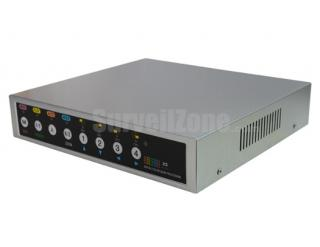 4CH Real Time Professional Video Quad Processor D1 Resolution