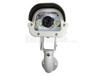420TVL Sony CCD Outdoor Car License Plate Capture Camera White Light