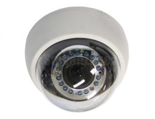 600TVL Cmos 20m IR Dome Camera with IR-cut Filter