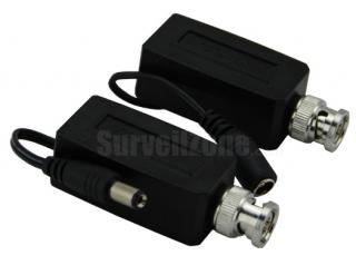 2X Passive CCTV Video Power Transmitter Receiver Balun