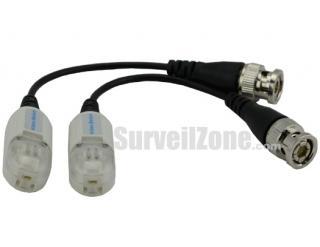 Passive Video Transmitter Receiver Balun Pair for CCTV Camera