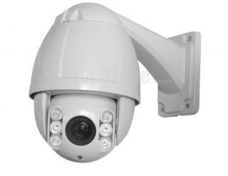 "4.5"" SONY CCD 480TVL 10X Zoom 50m IR High Speed Network PTZ Camera"