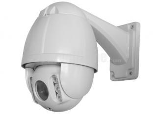 "4.5"" SONY CCD 650TVL 10X Zoom 50m IR High Speed Network PTZ Camera"