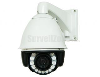 "7"" H.264 D1 30X Zoom 600TVL Sony CCD High Speed IP PTZ Camera 140m IR"