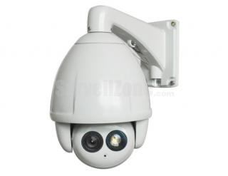 "7"" H.264 D1 23X Zoom 650TVL Sony CCD High Speed IP PTZ Camera 120m IR"