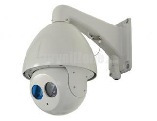 "7"" H.264 D1 23X Zoom 120m IR 650TVL Sony CCD High Speed IP PTZ Camera"