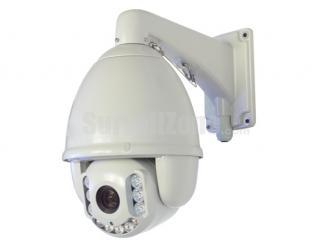 H.264 D1 30X Zoom 150m IR High Speed Network PTZ Camera