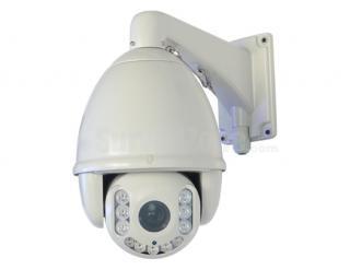 H.264 D1 23X Optical Zoom 150m IR High Speed Network PTZ Camera