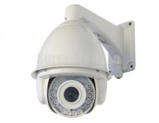 7 Inch H.264 D1 30X Zoom High Speed PTZ Camera 140m IR