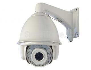 7 Inch H.264 D1 30X Zoom High Speed PTZ IP Camera 140m IR