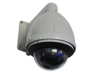 "7"" H.264 D1 480TVL 30X Zoom High Speed Network PTZ Camera"
