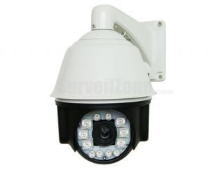 H.264 D1 23X Zoom 150m IR High Speed IP PTZ Camera(650TVL Camera)