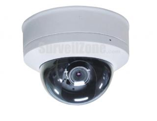 High-res 650TVL H.264 D1 Network Security Vandal-proof IP Dome Camera