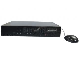 16CH Video 8CH Audio H.264 Real Time Network Standalone DVR w/ VGA
